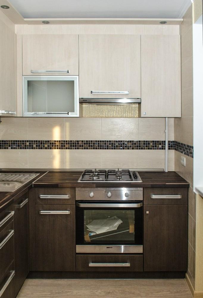 Акриловые кухни-Кухня из пластика «Модель 133»-фото2