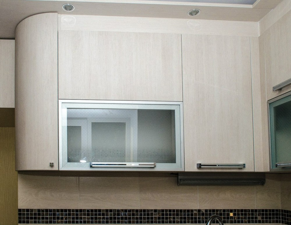 Акриловые кухни-Кухня из пластика «Модель 133»-фото3