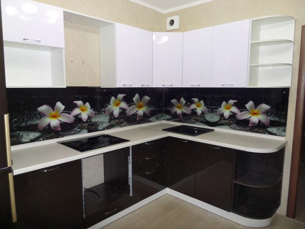 Встроенная кухня-Кухня МДФ в ПВХ «Модель 148»-фото2