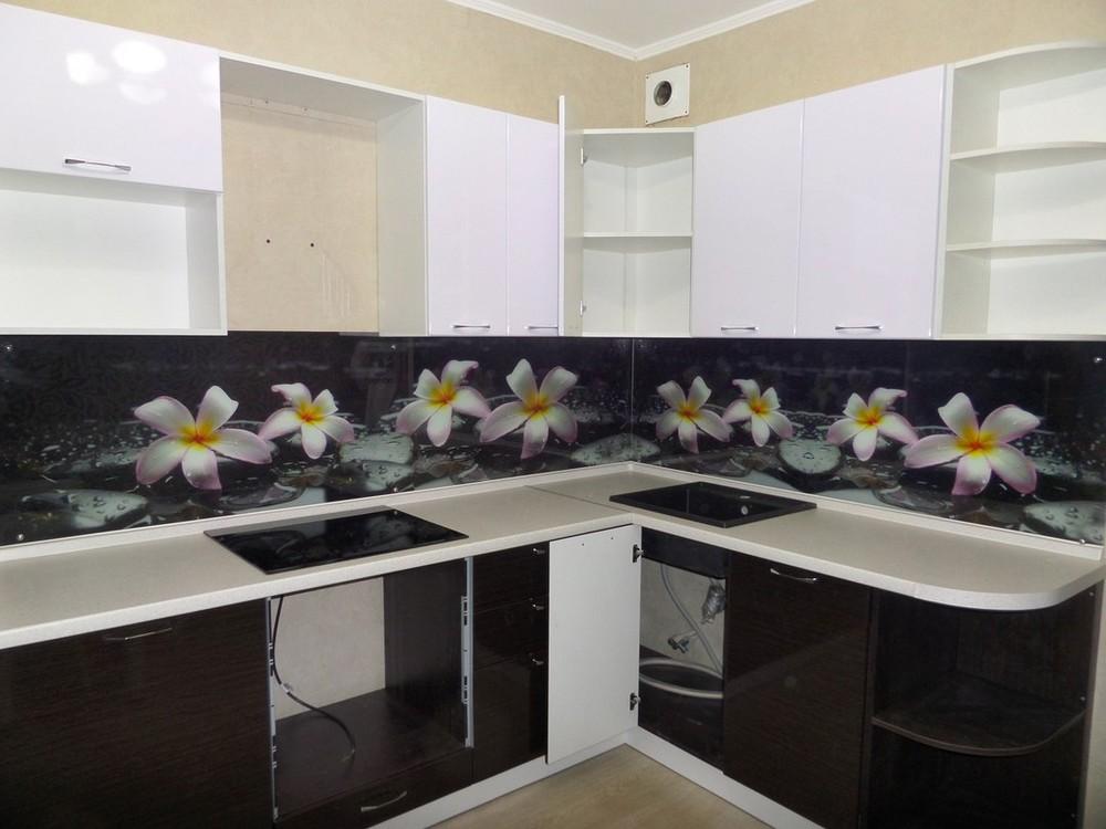Встроенная кухня-Кухня МДФ в ПВХ «Модель 148»-фото3