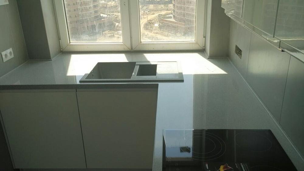 Акриловые кухни-Кухня МДФ в эмали «Модель 85»-фото5