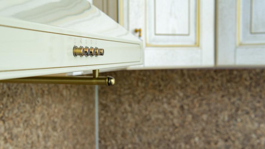 Белый кухонный гарнитур-Кухня МДФ в пластике «Модель 50»-фото8