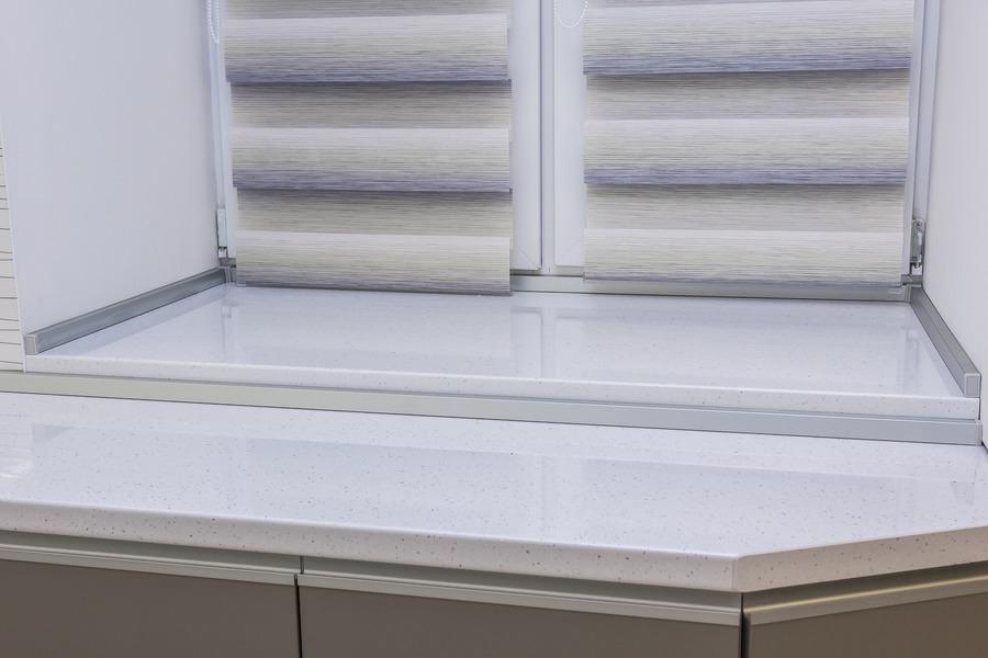 Белый кухонный гарнитур-Кухня МДФ в ПВХ «Модель 9»-фото9