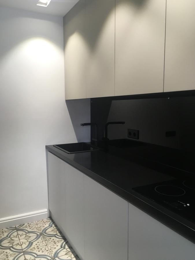 Белый кухонный гарнитур-Кухня МДФ в ПВХ «Модель 66»-фото4