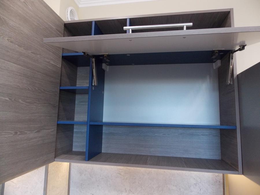 Встроенная кухня-Кухня МДФ в эмали «Модель 15»-фото6