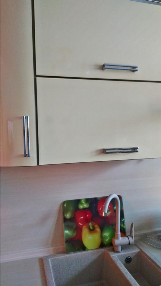 Кухни на заказ-Кухня из шпона «Модель 344»-фото4