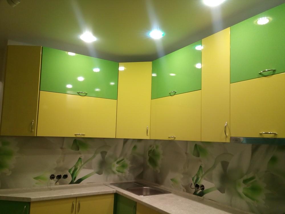 Встроенная кухня-Кухня МДФ в ПВХ «Модель 329»-фото5