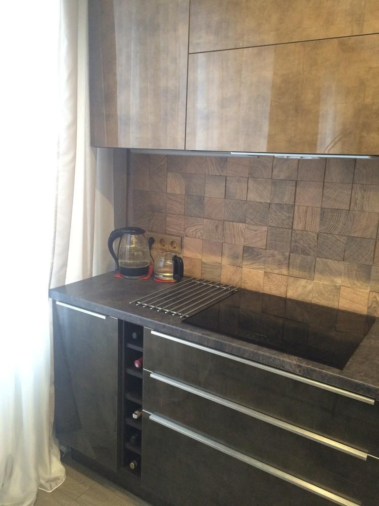 Акриловые кухни-Кухня из пластика «Модель 113»-фото4