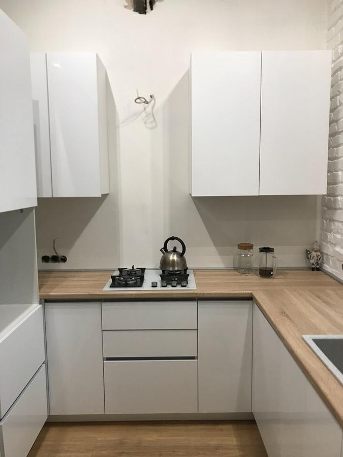 Акриловые кухни-Кухня из акрила «Модель 106»-фото3