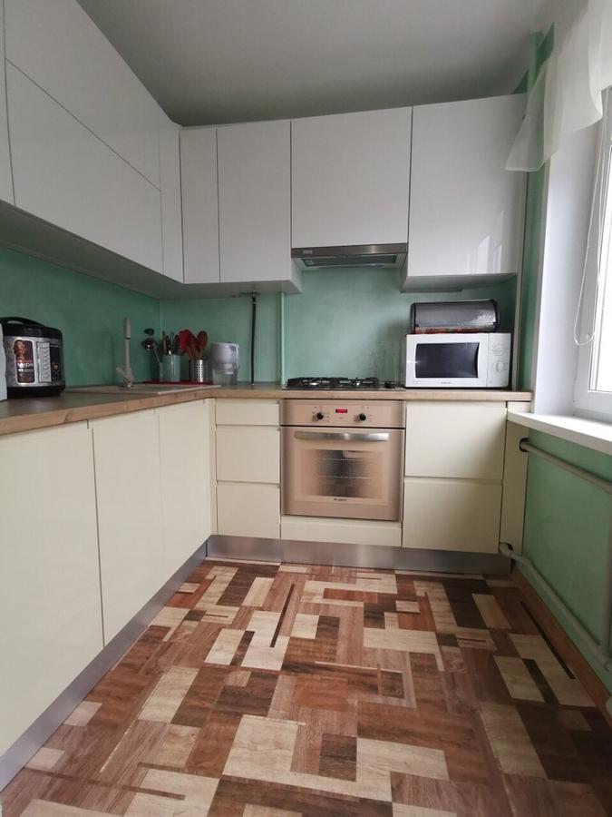 Белый кухонный гарнитур-Кухня МДФ в эмали «Модель 173»-фото1
