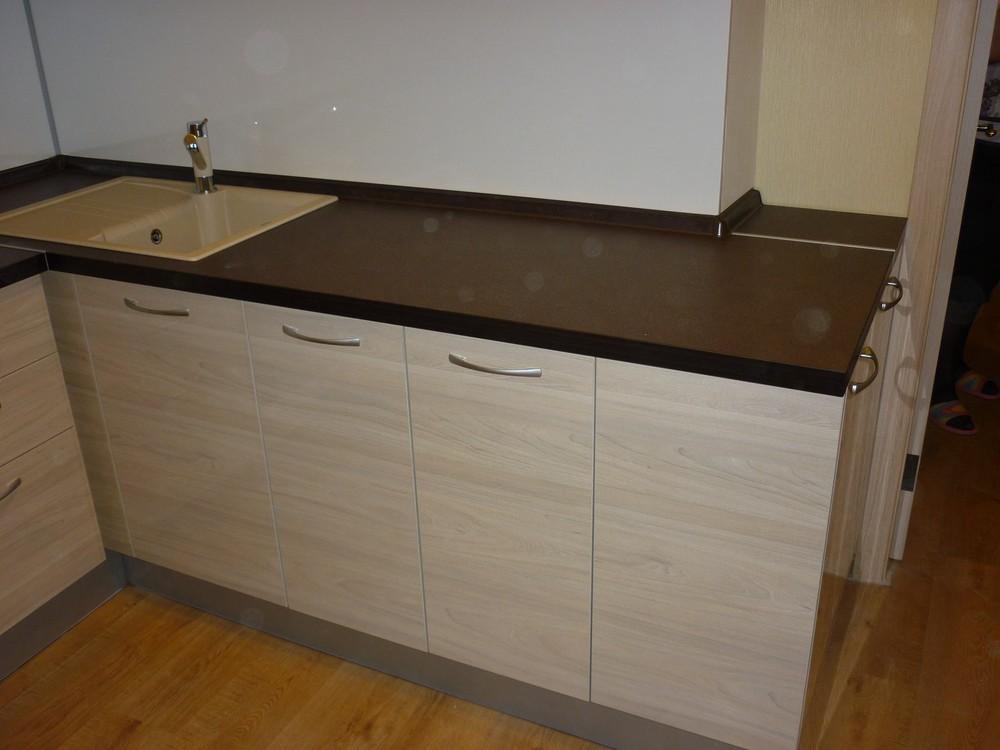 Белый кухонный гарнитур-Кухня МДФ в ПВХ «Модель 208»-фото3