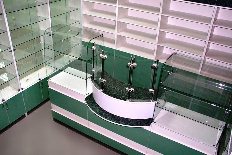 Торговая мебель-Мебель для аптеки «Модель 188»-фото1
