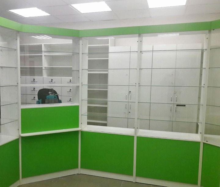 Торговая мебель-Мебель для аптеки «Модель 189»-фото4