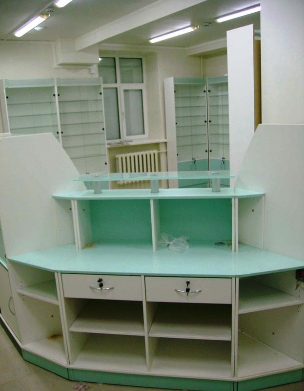 Торговая мебель-Мебель для аптеки «Модель 194»-фото5