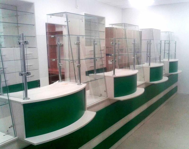 Торговая мебель-Мебель для аптеки «Модель 188»-фото4