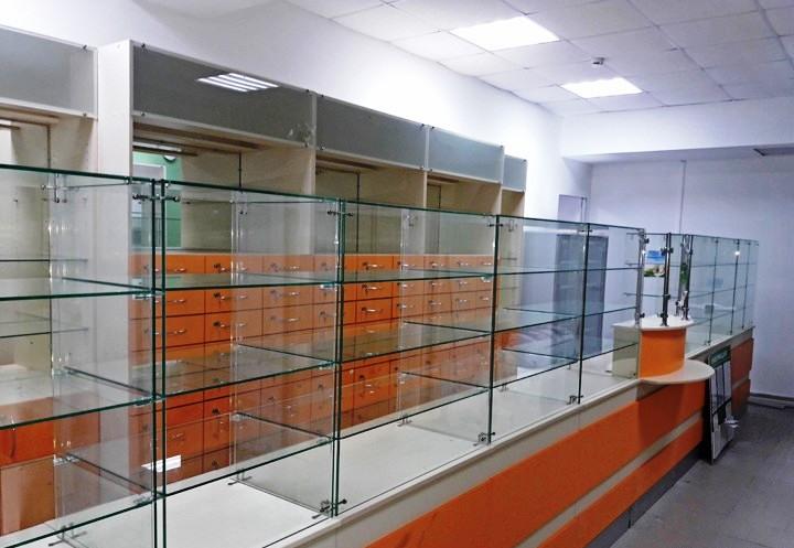 Аптека-Мебель для аптеки «Модель 191»-фото1