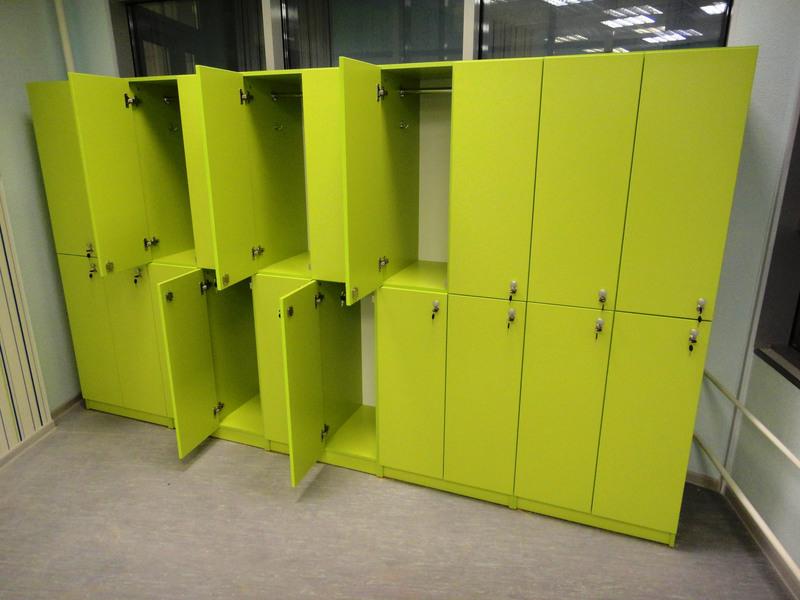 Торговая мебель-Шкафчики для раздевалки «Модель 168»-фото5
