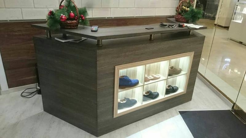 Магазин обуви-Мебель для магазина «Модель 40»-фото1