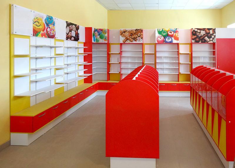 Магазин продуктов-Мебель для магазина «Модель 23»-фото1