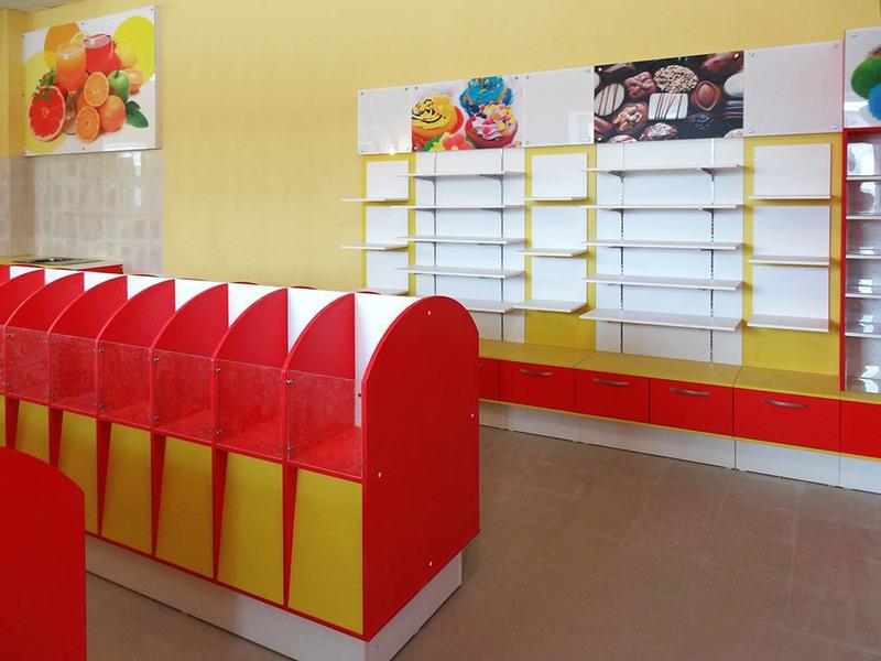 Магазин продуктов-Мебель для магазина «Модель 23»-фото2
