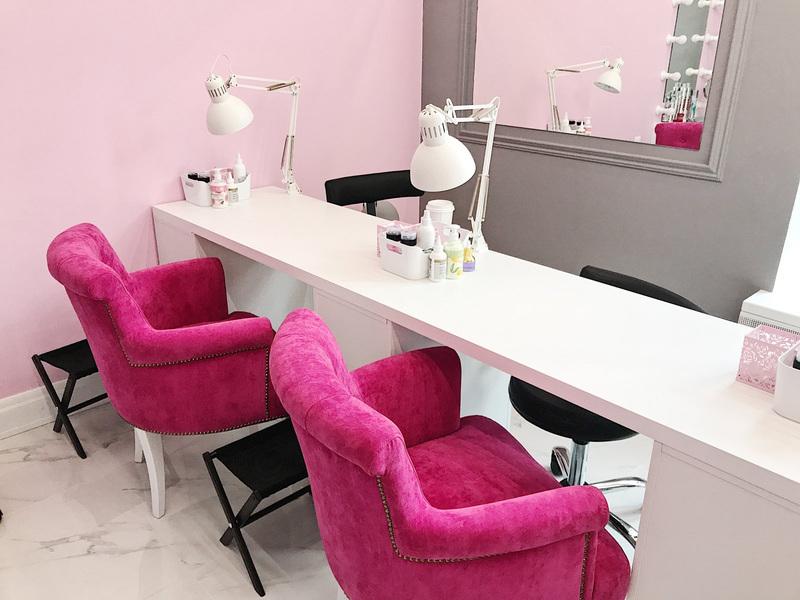 Маникюрный салон-Мебель для салона «Модель 135»-фото1