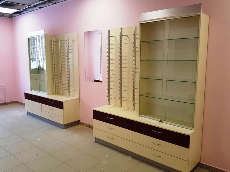 Торговая мебель-Мебель для оптики «Модель 215»-фото2