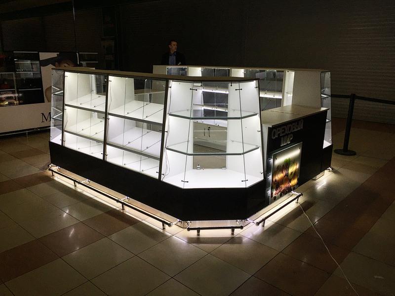 Торговая мебель-Торговый островок «Модель 236»-фото3
