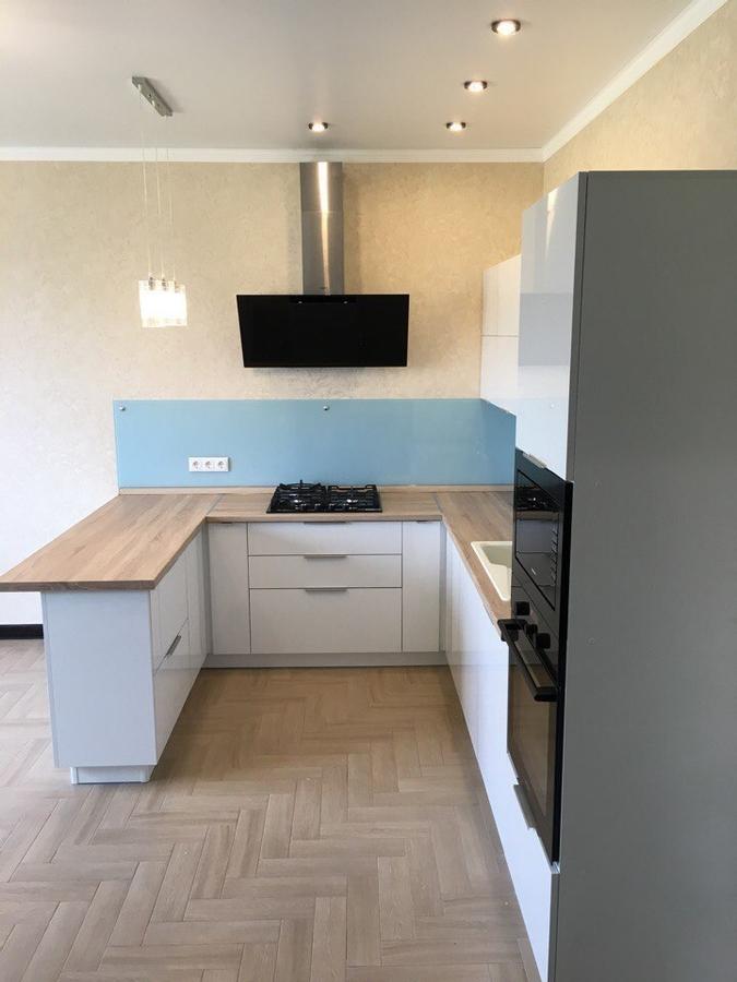 Акриловые кухни-Кухня из акрила «Модель 470»-фото2
