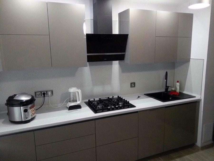 Акриловые кухни-Кухня из акрила «Модель 469»-фото1