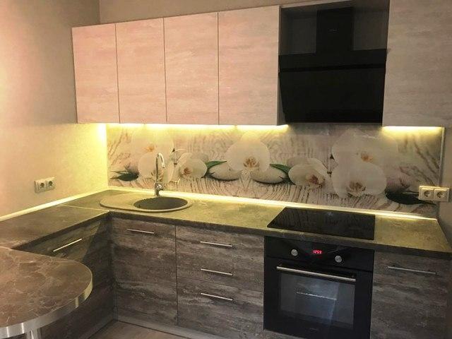 Белый кухонный гарнитур-Кухня из ЛДСП «Модель 397»-фото3