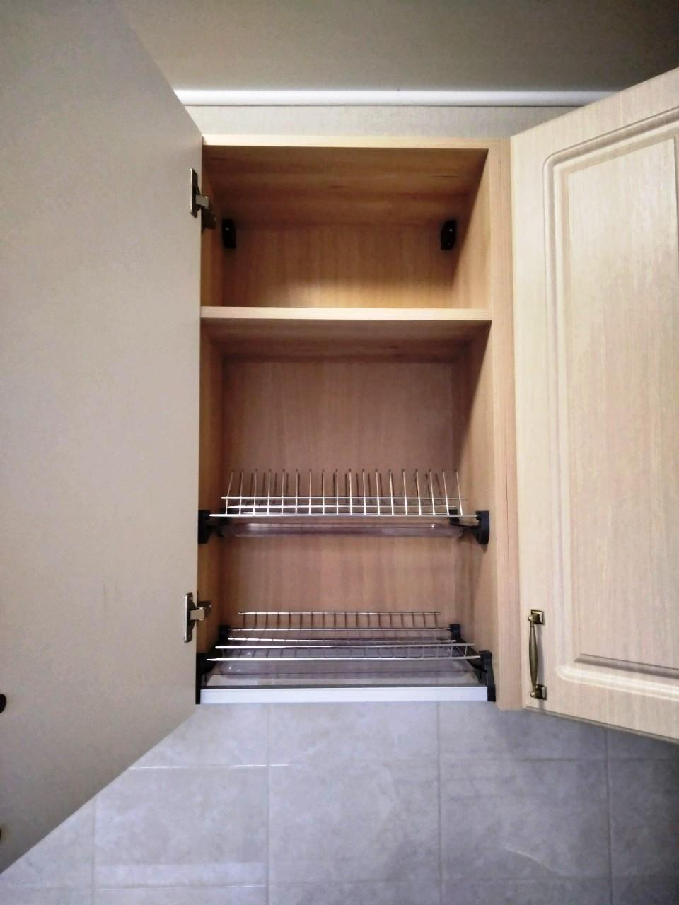 Белый кухонный гарнитур-Кухня МДФ в ПВХ «Модель 534»-фото8