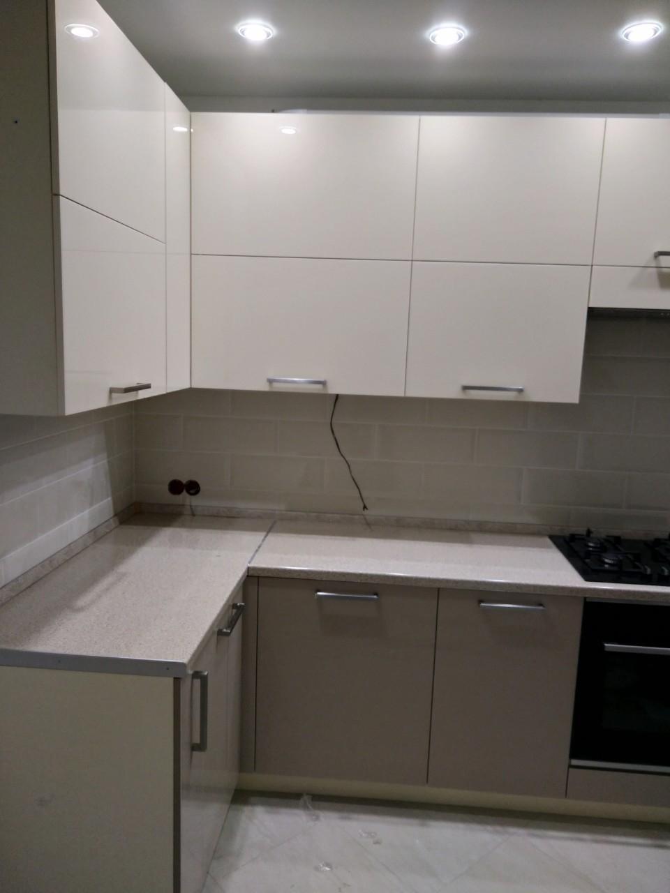 Акриловые кухни-Кухня из пластика «Модель 536»-фото4