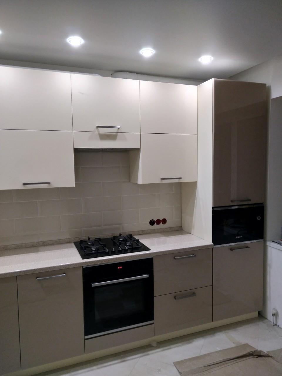 Акриловые кухни-Кухня из пластика «Модель 536»-фото5