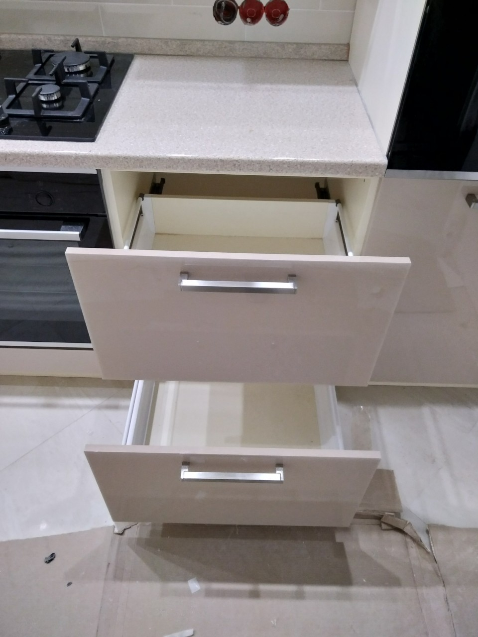 Акриловые кухни-Кухня из пластика «Модель 536»-фото9