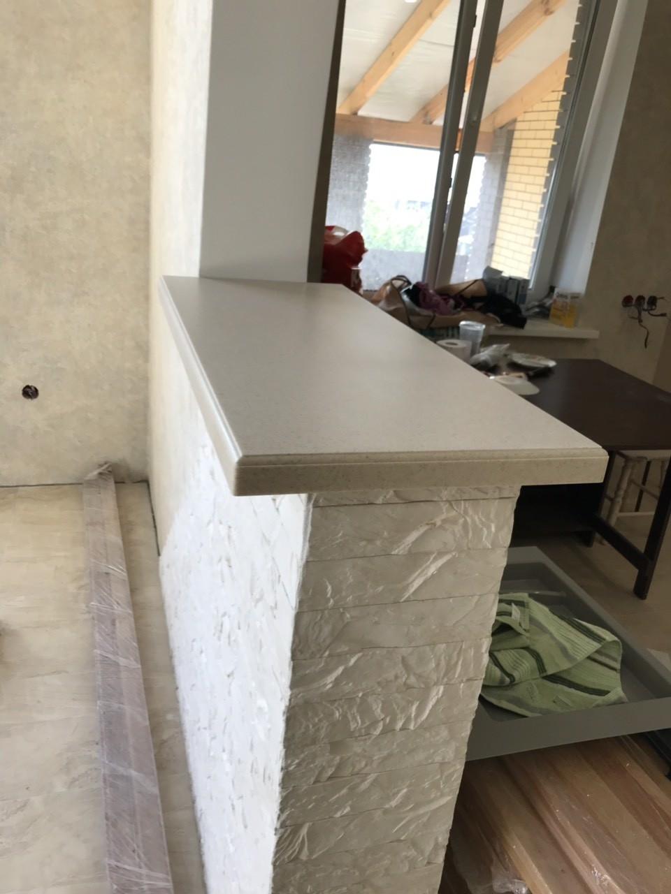 Белый кухонный гарнитур-Кухня МДФ в ПВХ «Модель 535»-фото7