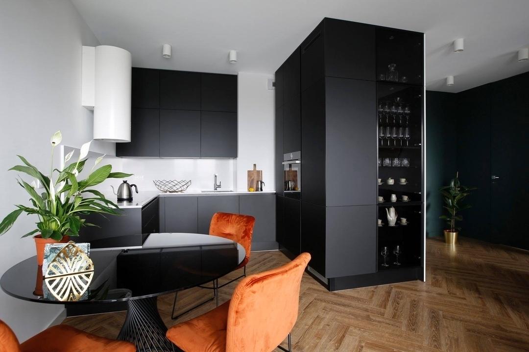 Дорогие и элитные кухни-Кухня из пластика «Модель 602»-фото1