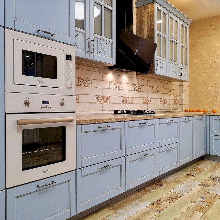 Дорогие и элитные кухни-Кухня МДФ в эмали «Модель 524»-фото4