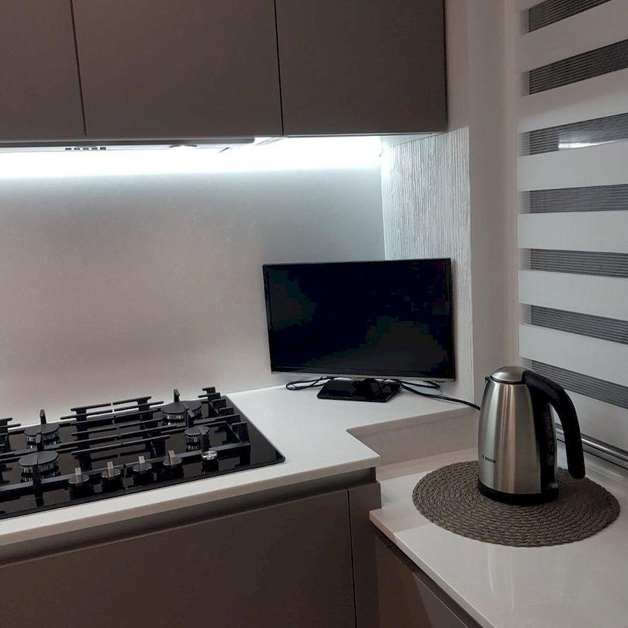 Встроенная кухня-Кухня МДФ в ПВХ «Модель 659»-фото6