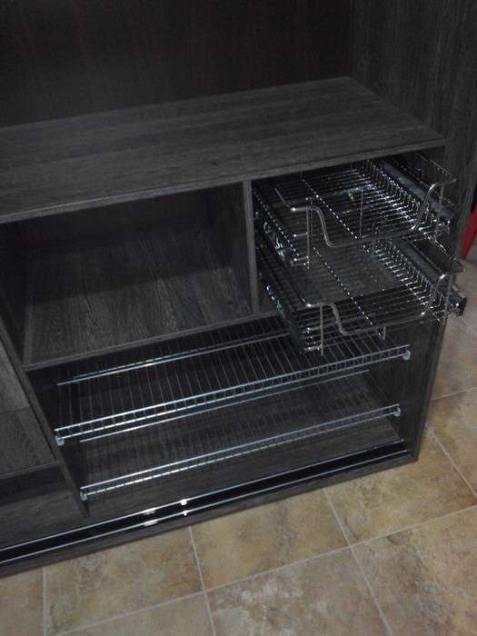Встроенные шкафы-купе-Шкаф-купе с зеркалом «Модель 58»-фото3
