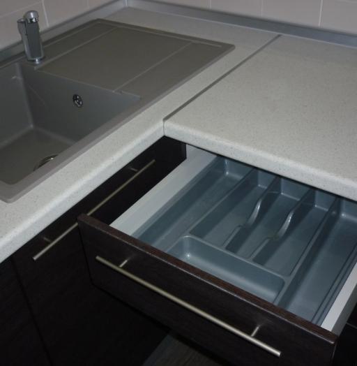 Кухни на заказ-Кухня МДФ в ПВХ «Модель 240»-фото5