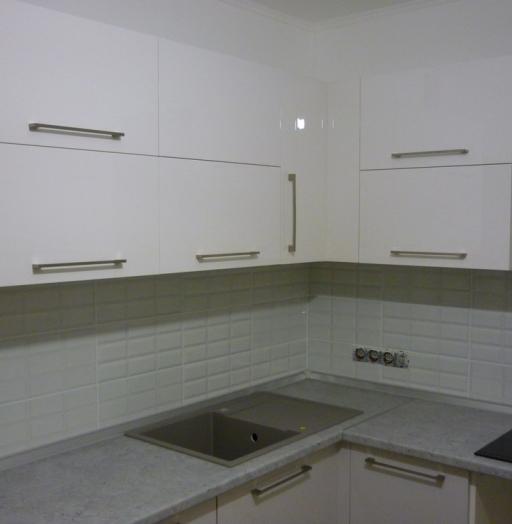 Встроенная кухня-Кухня МДФ в эмали «Модель 248»-фото6
