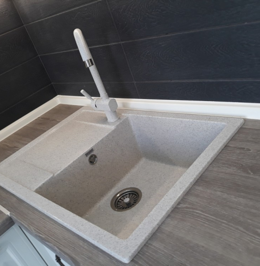 Встроенная кухня-Кухня МДФ в ПВХ «Модель 278»-фото4