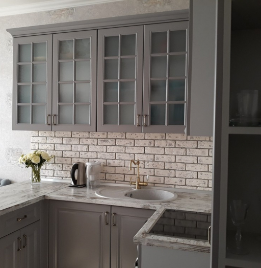 -Кухня МДФ в эмали «Модель 281»-фото3