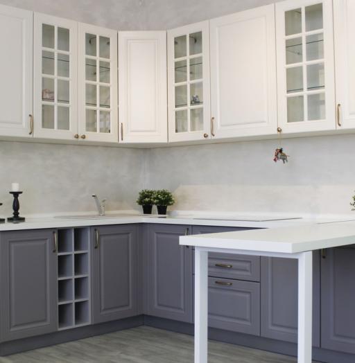 -Кухня МДФ в ПВХ «Модель 282»-фото12