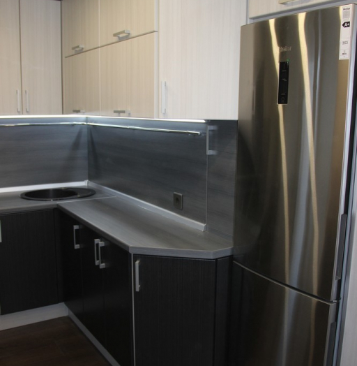 -Кухня МДФ в ПВХ «Модель 92»-фото24