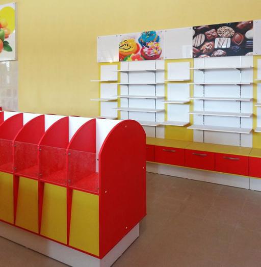 Магазин продуктов-Мебель для магазина «Модель 23»-фото3