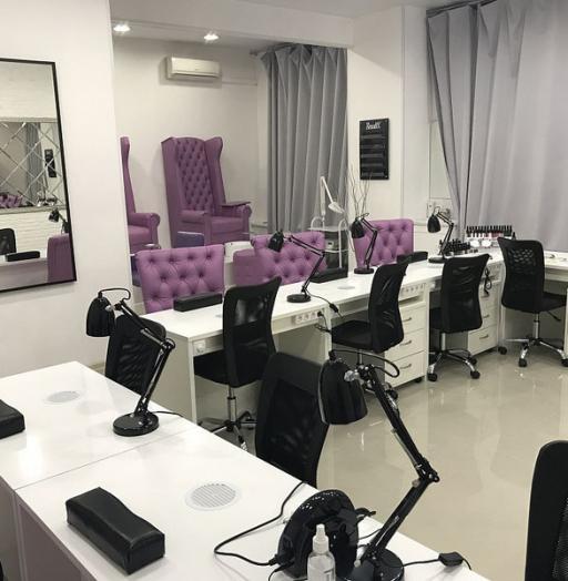 Маникюрный салон-Мебель для салона «Модель 129»-фото1