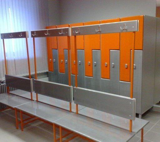 Торговая мебель-Шкафчики для раздевалки «Модель 170»-фото6