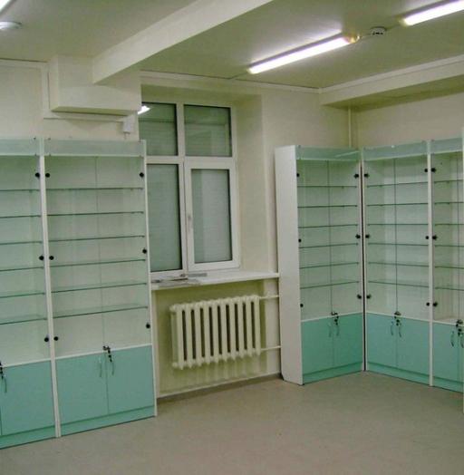 Торговая мебель-Мебель для аптеки «Модель 194»-фото6