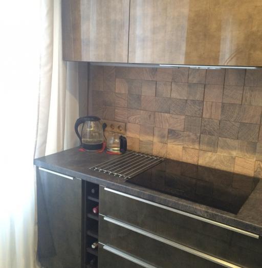 Акриловые кухни-Кухня из пластика «Модель 113»-фото8